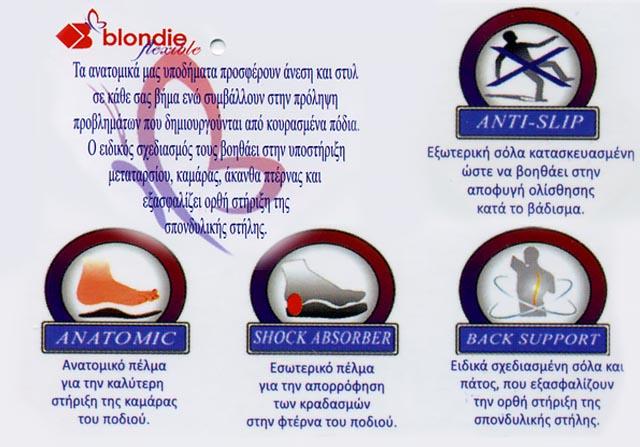BLONDIE FLEXIBLE
